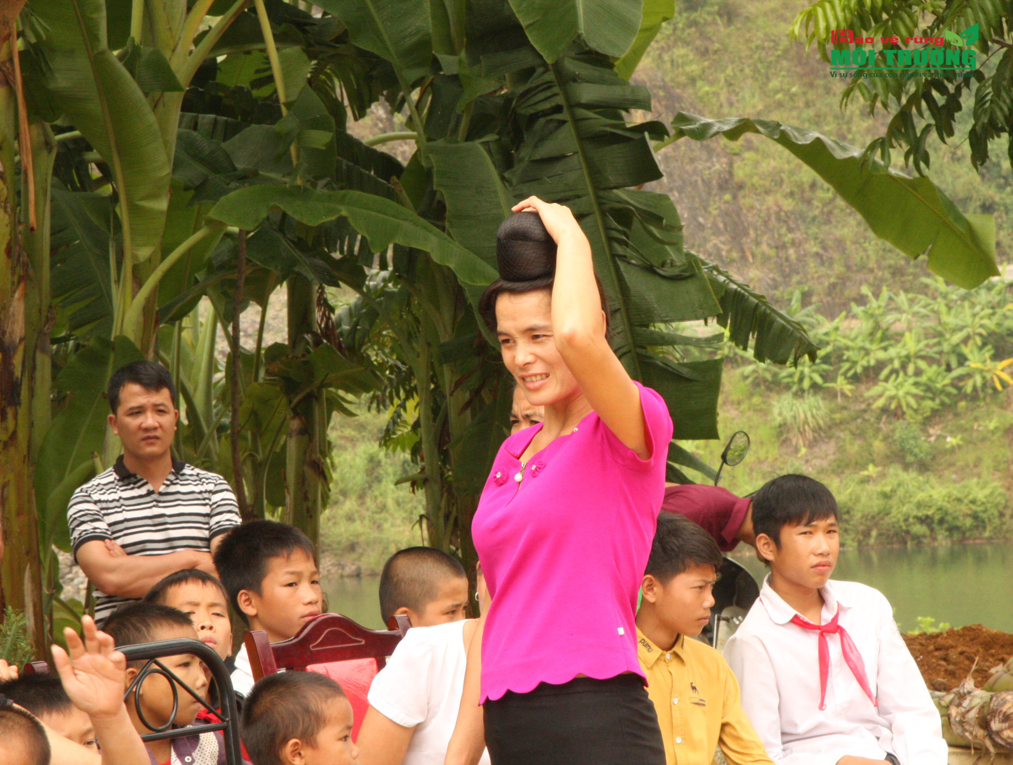 Lời hẹn thề trọn vẹn tình yêu thể hiện rõ trên những mái tóc của người phụ nữ Thái trên miền Tây Bắc.